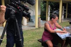 Filming-Herenui-Garbutt-Papeete-Art-School-IMG_3290